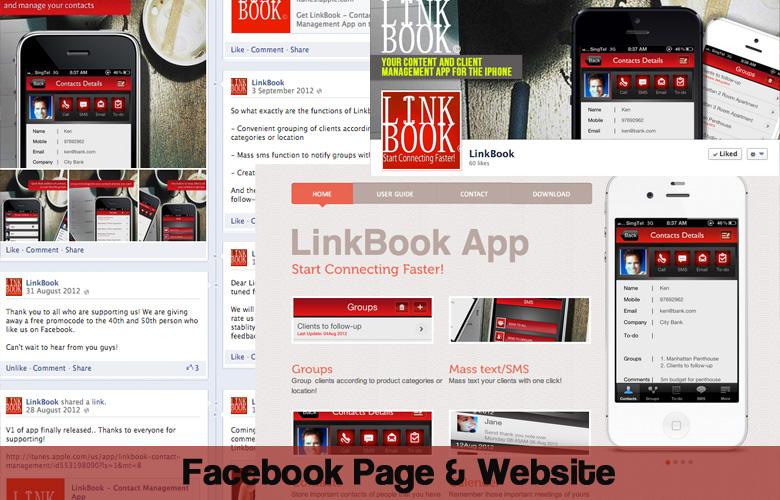 FB page & Website