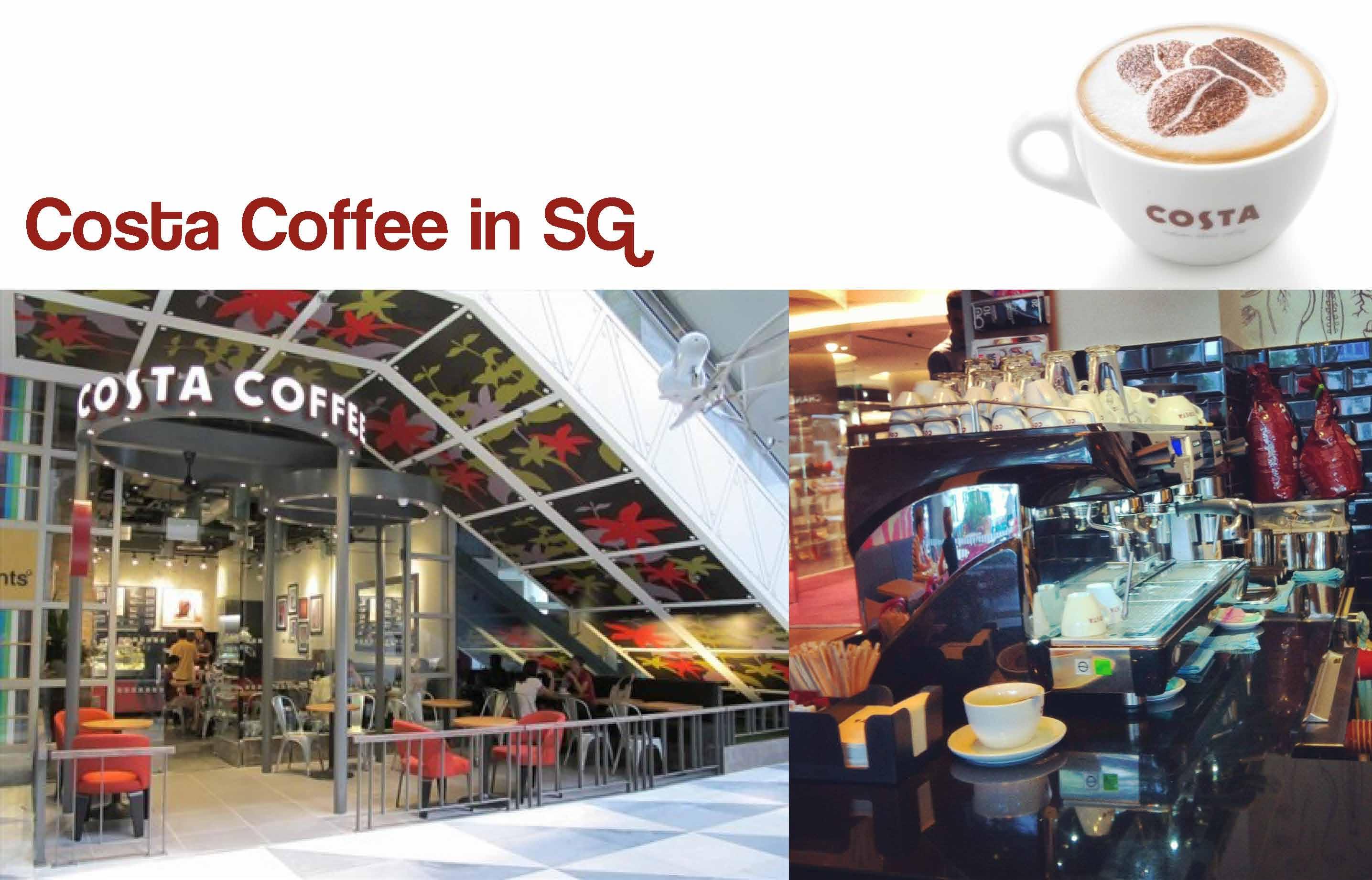 Costa coffee in SG